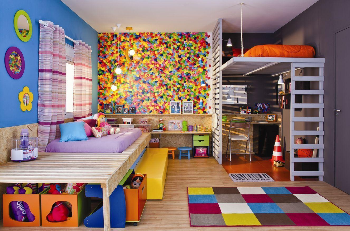Nem só de rosa e azul se faz o quarto de um bebê…