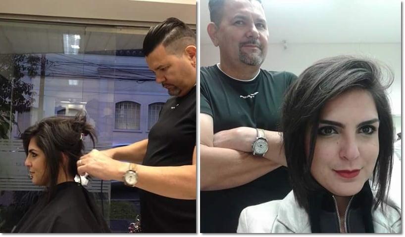 Um corte de cabelo da moda ou um corte com estilo próprio?