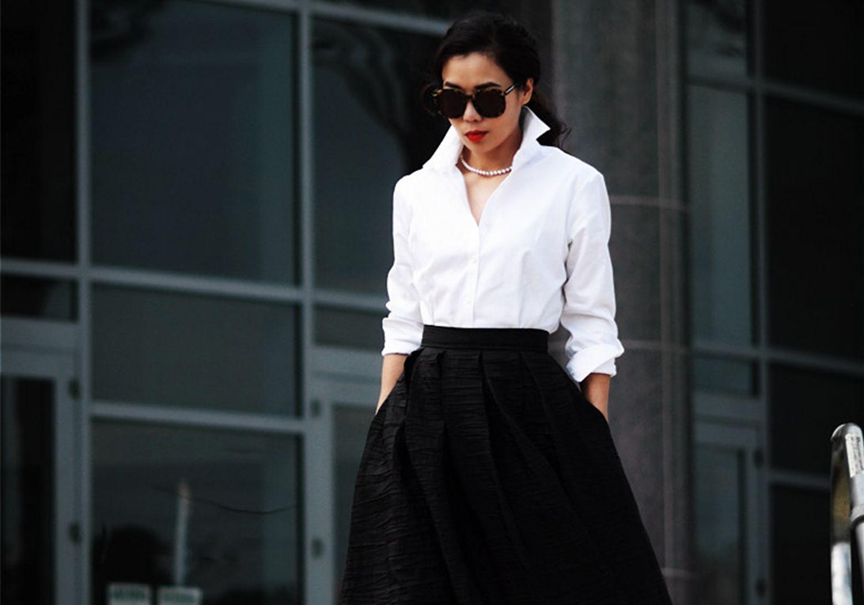 Camisa Branca. Uma peça, inúmeras possibilidades