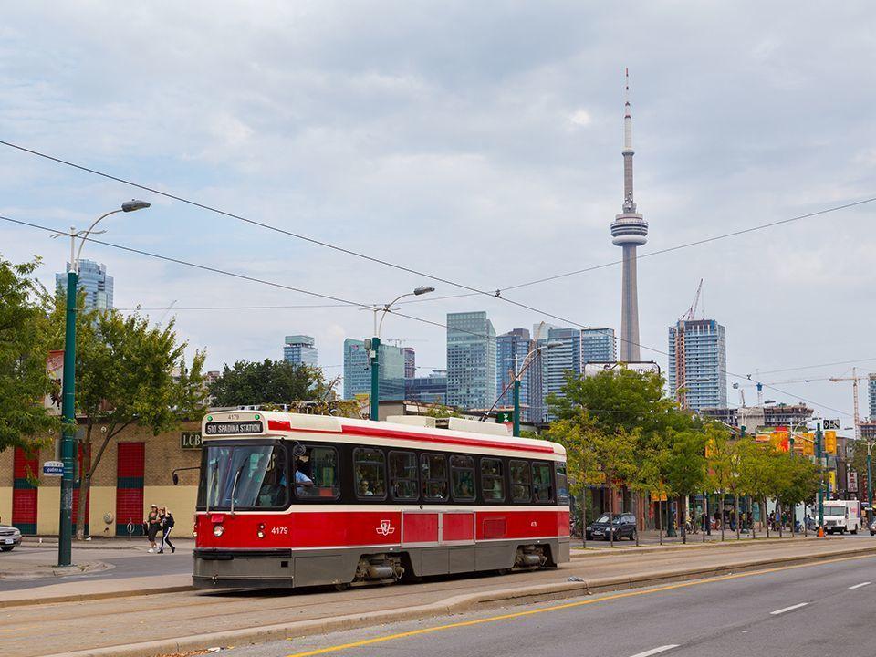 O transporte público de Toronto