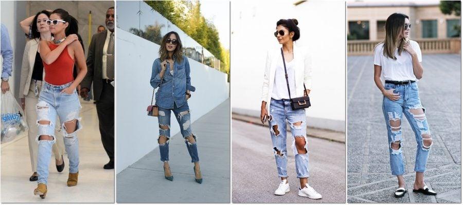 Jeans Destroyed Arquitetando Estilos
