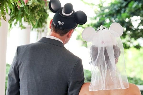 Casamento fora da igreja - Disney