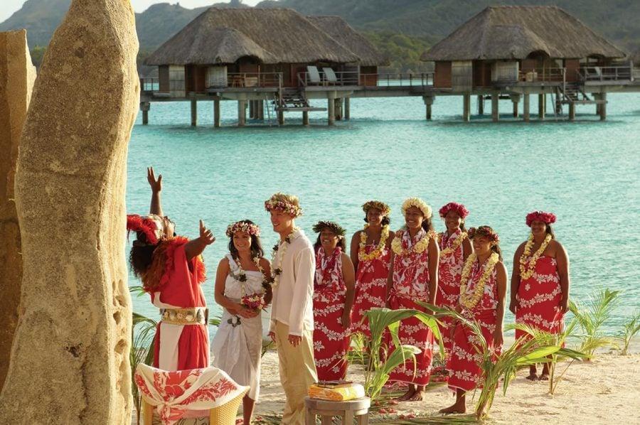 Casamento fora da igreja - havai