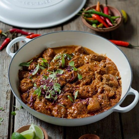 curry de cordeiro
