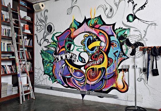 'Street art': das ruas pra sua casa!