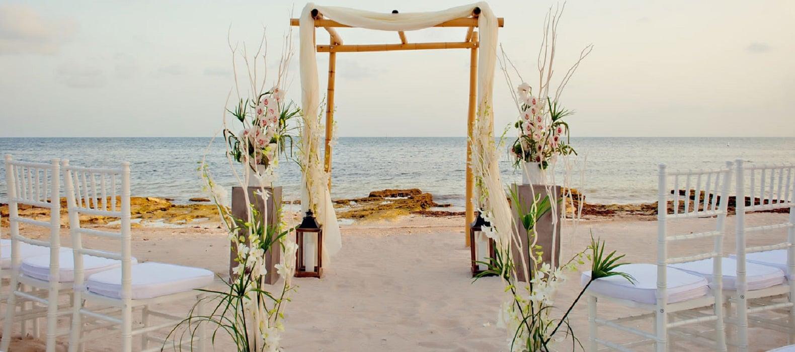 Sol, praia e casamento!