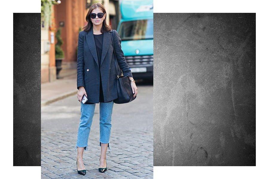 Looks de trabalho com jeans